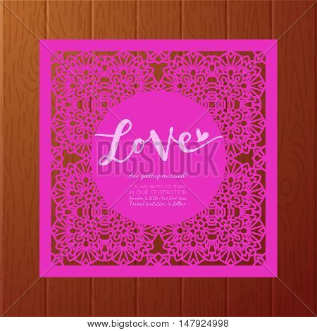 Save Date Cards Vector Photo Free Trial Bigstock