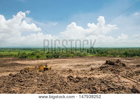 land area adjustment and reclamation project .