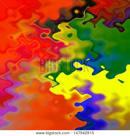 Abstract coloring background of the abstract gradient with visual wave effects for your project design