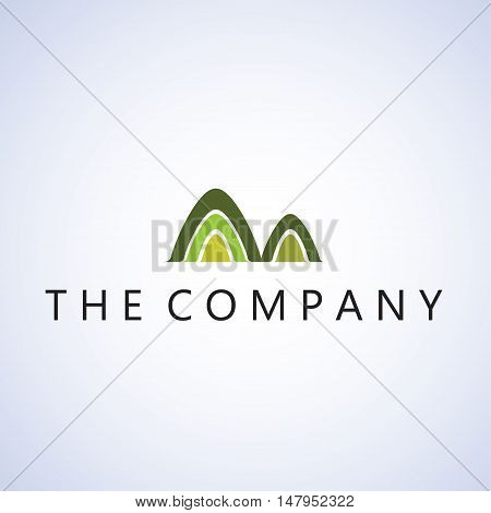 mountain logo ideas design vector illustration on background