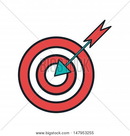 target idea think creativity design vector illustration eps 10