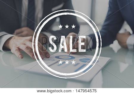 Sale Offer Discount Commerce Promotion Cheap Concept