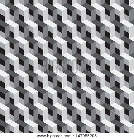 Abstract geometric modern retro style background futuristic shape vector illustration