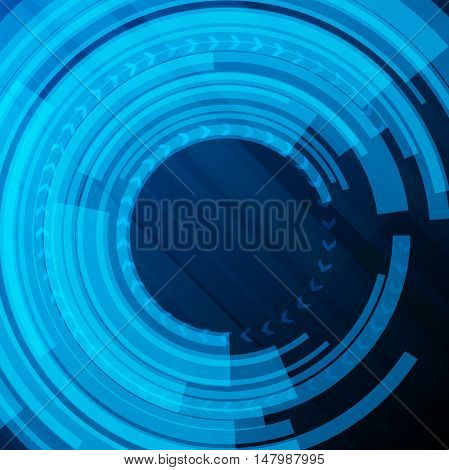 Abstract technological background vector art backdrop modern