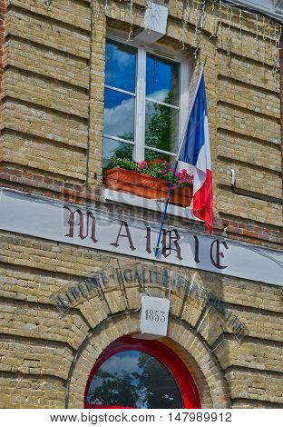 Jumieges France - june 22 2016 : the city hall