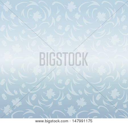 Abstract ice seamless pattern. Winter festive background with Ice texture. Vector Hockey 2016/17 World Cup abstract background with hockey puck and shadow. World Cup of Hockey. Canada, Europe Vector Seamless pattern. Hockey World League ice hockey, hockey