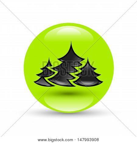 Creative New year tree vector image design