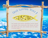 God Loves You ! V2.0 , No matter how many mistakes you've made, no matter how unworthy you think you are, He still loves you and wants you to come to know Him. poster