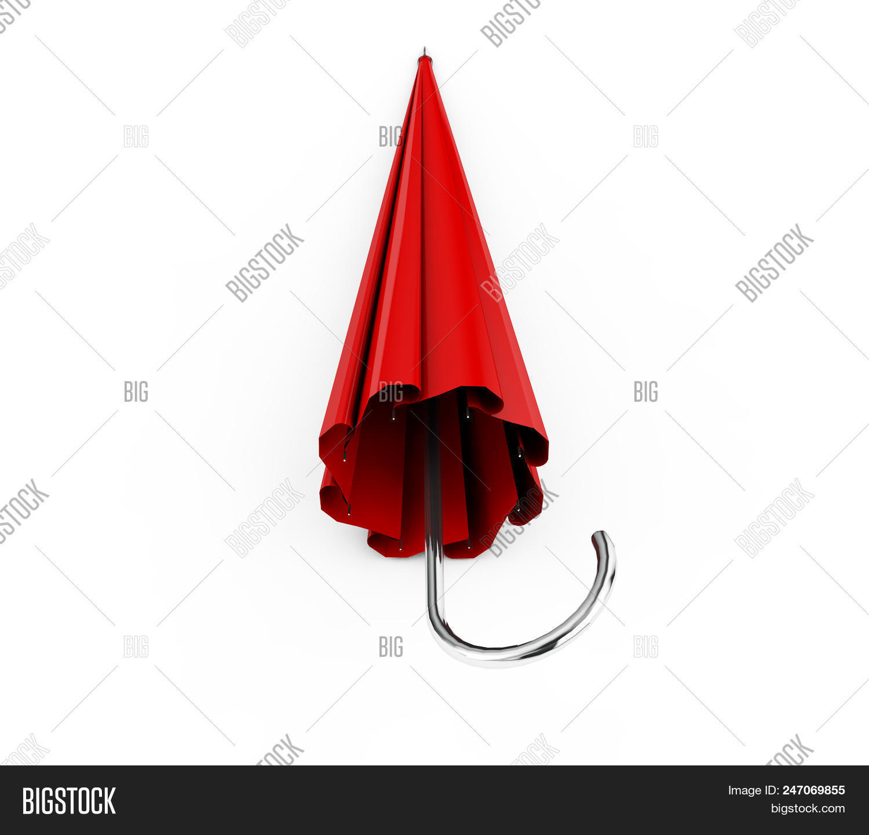 Red Umbrella Parasol Image Photo Free Trial Bigstock