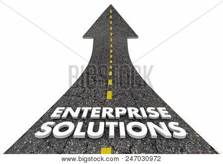 Enterprise Solutions Business Company Service Ideas 3d Illustration