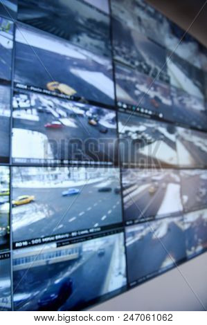 Close Circuit Television Security Monitors