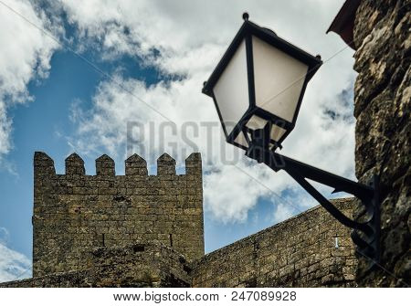 Sortelha Historical Mountain Village, Built Within Medieval Fortified Walls, Included In Portugal's