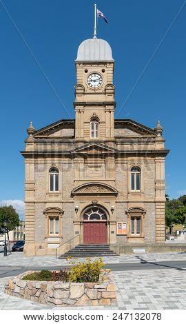 Albany, Australia - February 5, 2018: Historic Townhall, Famous Place Of Albany On February 5, 2018