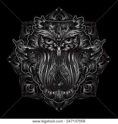 Hand Drawn Ornate Vector Photo Free Trial Bigstock