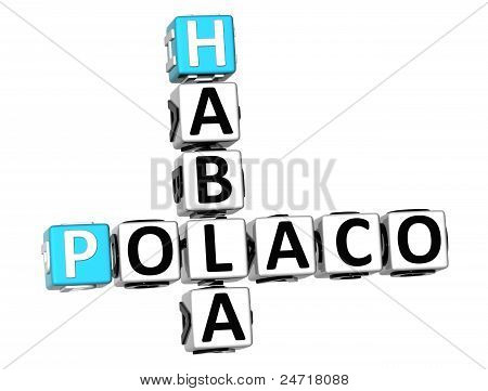 3D Habla Polaco Crossword