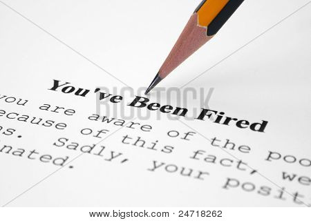 You' Ve Been Fired
