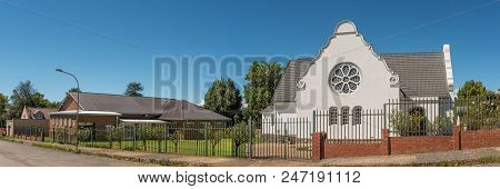 Kokstad, South Africa - March 26, 2018: The Dutch Reformed Church And Hall In Kokstad In The Kwazulu
