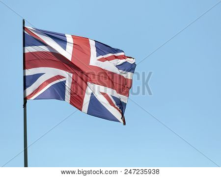Brittisch Flag In Amstedam,