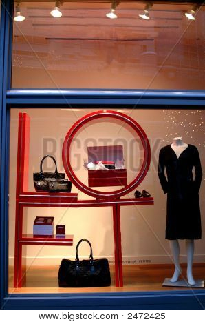 Complete Outfit In Store Window