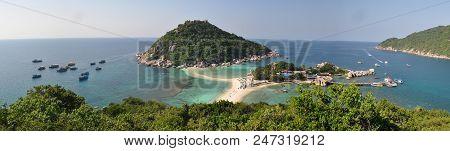 Spectacular View Of Panorama Koh Nang Yuan In Thailand