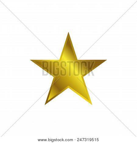 Gold Star Icon Vector Vector Photo Free Trial Bigstock