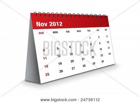 November 2012 - The Calendar series