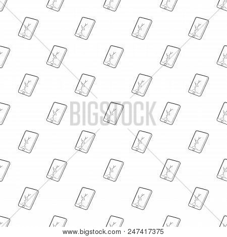 Gadget Crack Screen Icon. Outline Illustration Of Gadget Crack Screen Vector Icon For Web Design