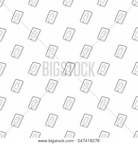 Gadget Charging Battery Icon. Outline Illustration Of Gadget Charging Battery Vector Icon For Web De