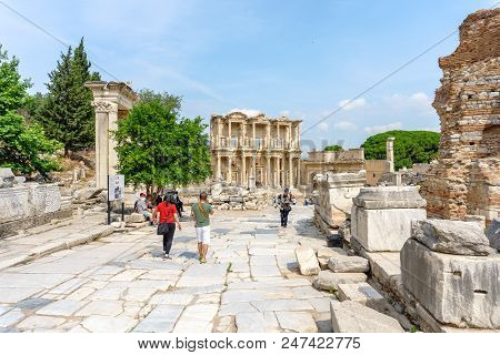 Celsus Library Of Ephesus Ancient City