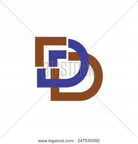 Dd Arrow Logo Vector Design Element. Corporate Branding Identity Design Template