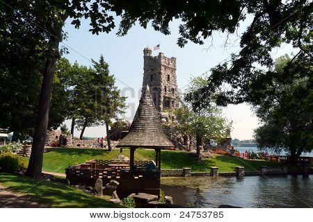 Boldt Castle Alster Tower and Gazebo