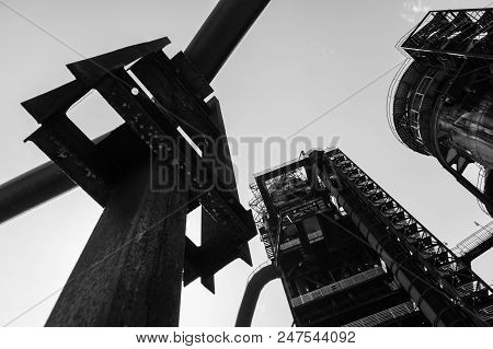 Bolt Tower And Lookout At Dolni Vitkovice Industrial Area, Ostrava, Czech Republic