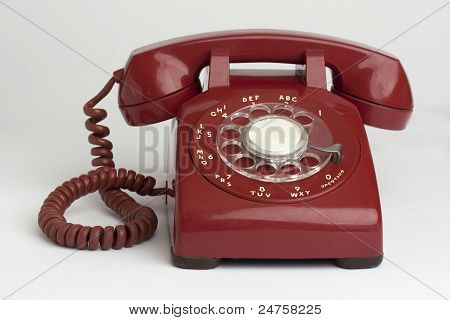 Red Hot Line Phone from the 1960's