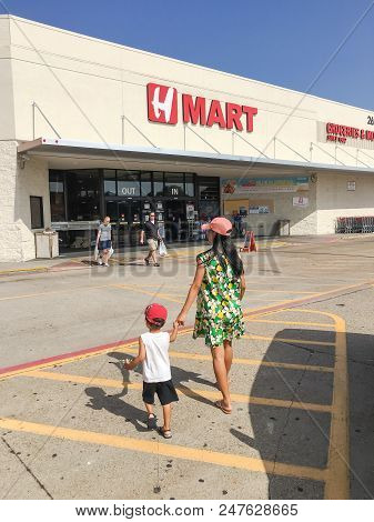 H Mart Supermarket American Chain Specializes In Providing Asian Foods