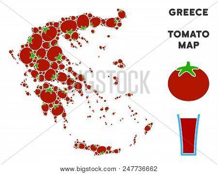 Greece Map Vector & Photo (Free Trial)   Bigstock