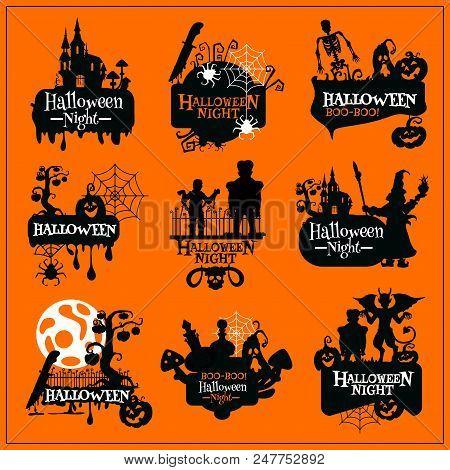 Halloween Horror Vector & Photo (Free Trial)   Bigstock