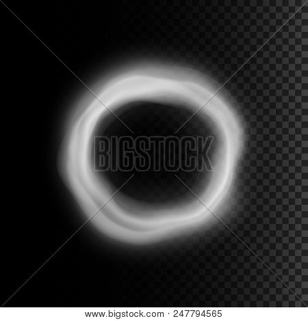 Realistic Smoke Ring Vector & Photo (Free Trial) | Bigstock