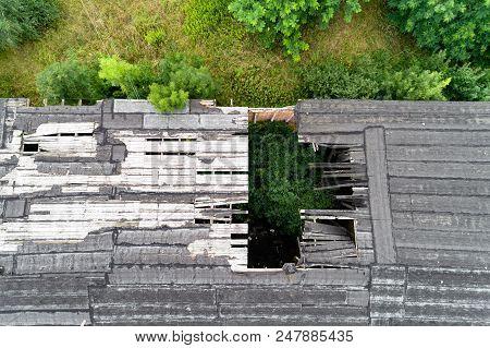 Old Destroyed Roof