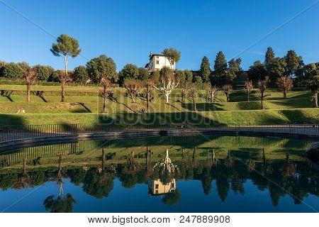 The Famous Boboli Gardens (giardino Di Boboli) In Florence Tuscany Italy - Xv-xix Century. Italy, Eu