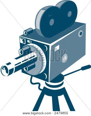 Movie Camera Vintage