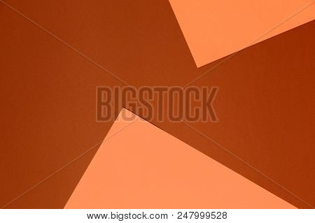 Pastel Beige And Brown Background. Colorful Texture. Minimal Concept. Creative Concept. Pop Art. Bri