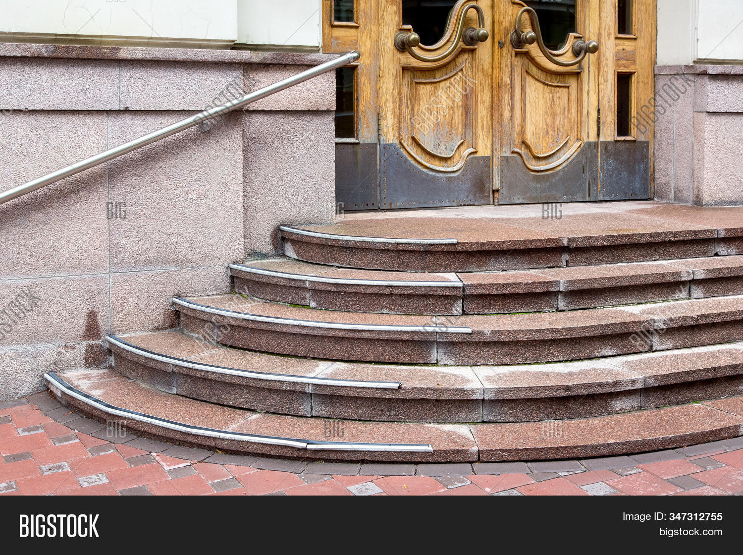 Granite Staircase Rise Image Photo Free Trial Bigstock