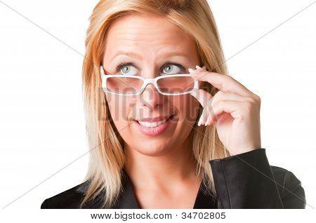Wondering Businesswoman