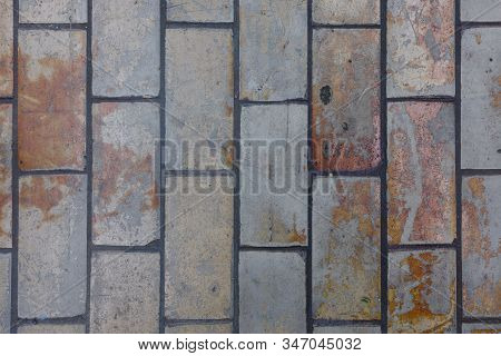 Industrial Stone Tiles Backdrop Ideal To Be Printed On Vinyl Or Paper For Example.