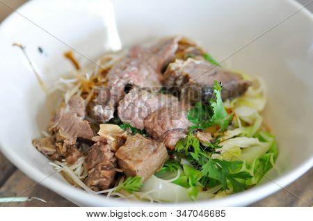 Plain Noodles Or Noodles, Beef Noodles Or Chinese Noodles