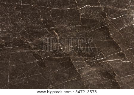 Brown Marble Background. Natural Stone Texture For Artwork.