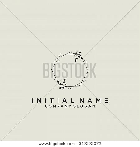 Az Letter Initial Beauty Monogram And Elegant Logo Design, Handwriting Logo Of Initial Signature, We