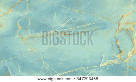 Natural Blue Onyx Marble, Onyx High-resolution Marble, Industrial Design And For Interior Design. Ce