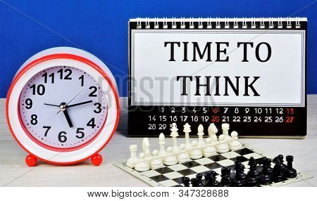 Time To Think-study Of Activities For A Certain Period, Systematization Of The Composition And Conte
