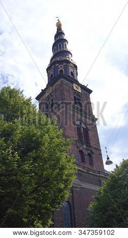 Copenhagen, Denmark - Jul 06th, 2015: Our Saviours Vor Frelsers Kirke - One Of Denmarks Most Famous